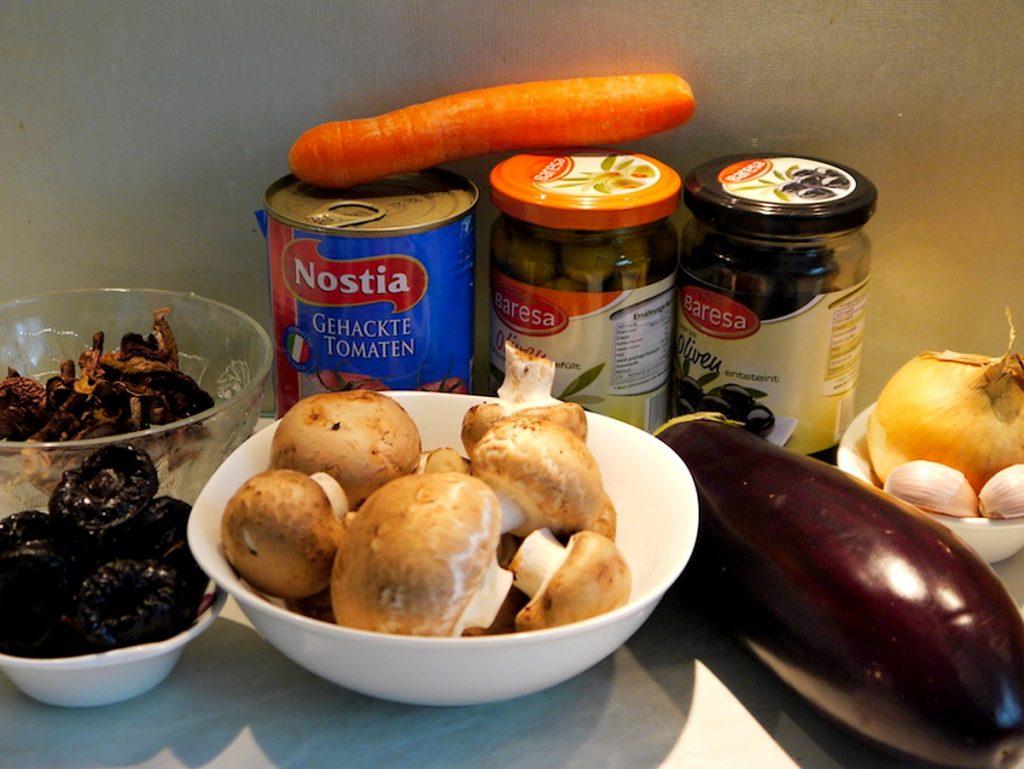 Овощи для солянки